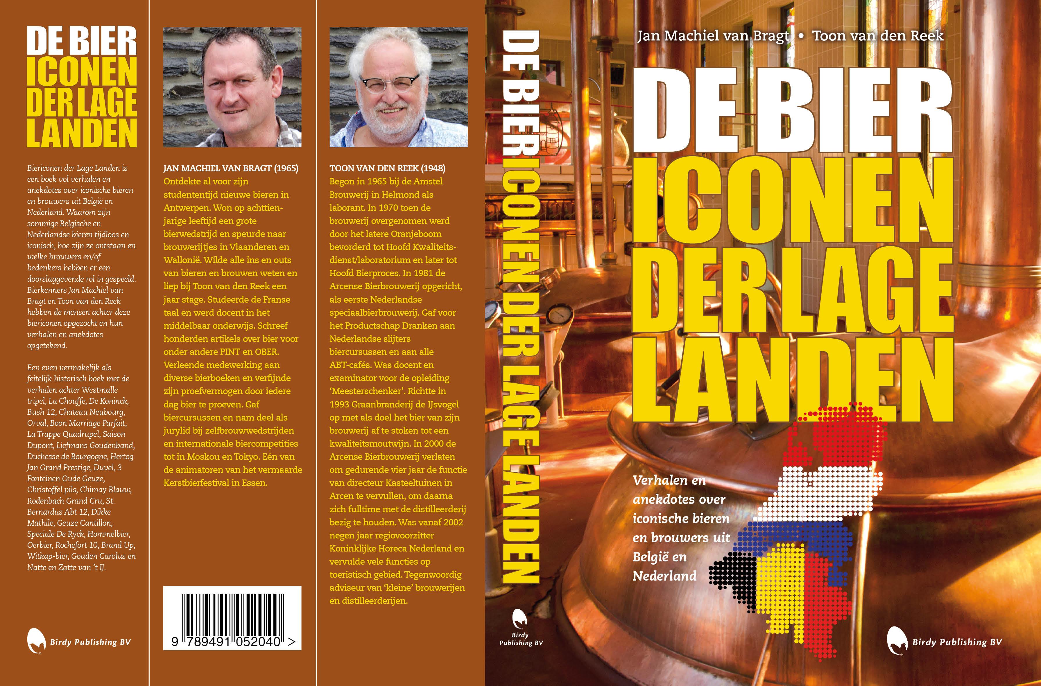 Cover Biericonen der Lage Landen