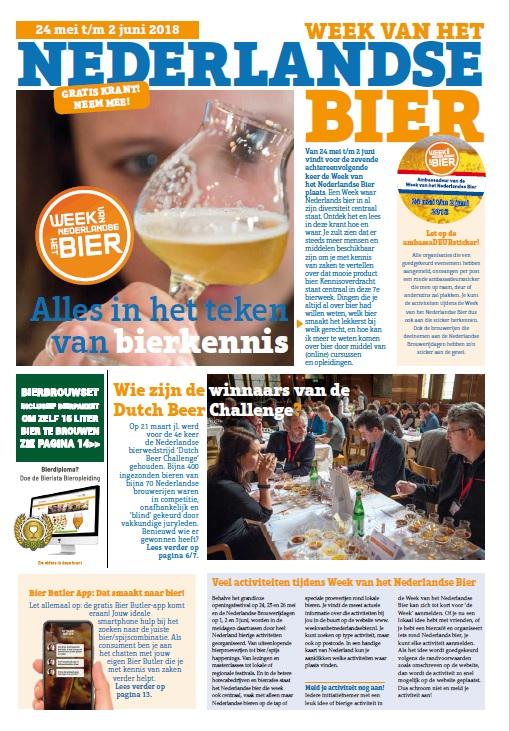 Krant Week NL Bier 2018