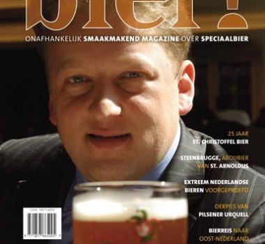 Birdy doet eindredactie Bier! magazine 12 en 13