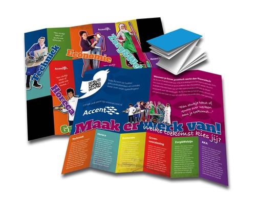 Leerlingenwerving met Z-card voor Accent Praktijkonderwijs