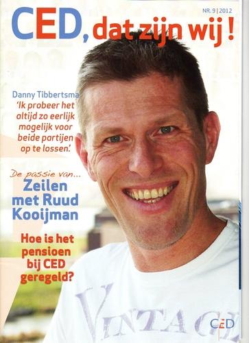 Nieuwe layout voor personeelsmagazine CED