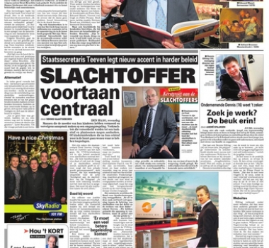 Telegraaf over kunstboek Birdy Publishing