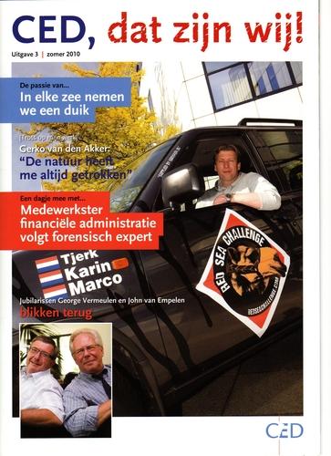 Derde CED personeelsmagazine verschenen