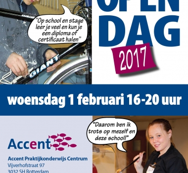 Posters Open Dagen 2017 Accent