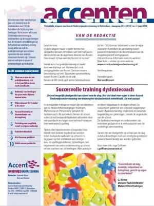 Juni-editie Nieuwsbrief Accenten