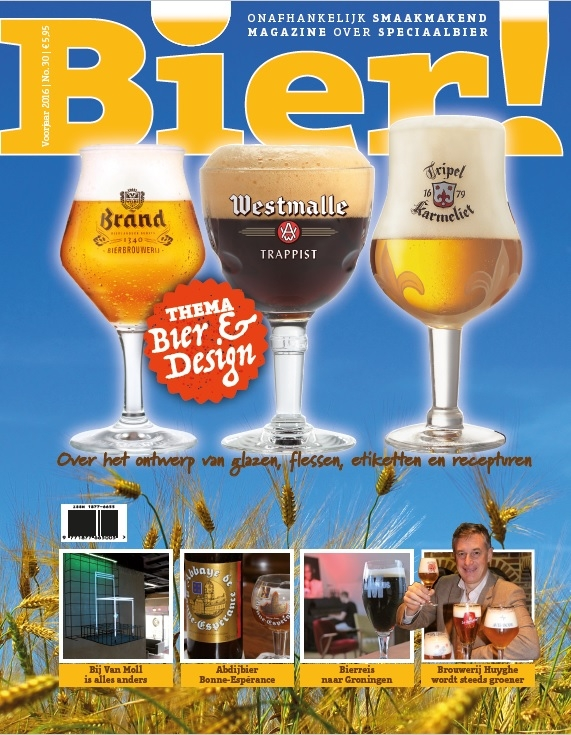 Thema Bier&Design in 30e editie van Bier!