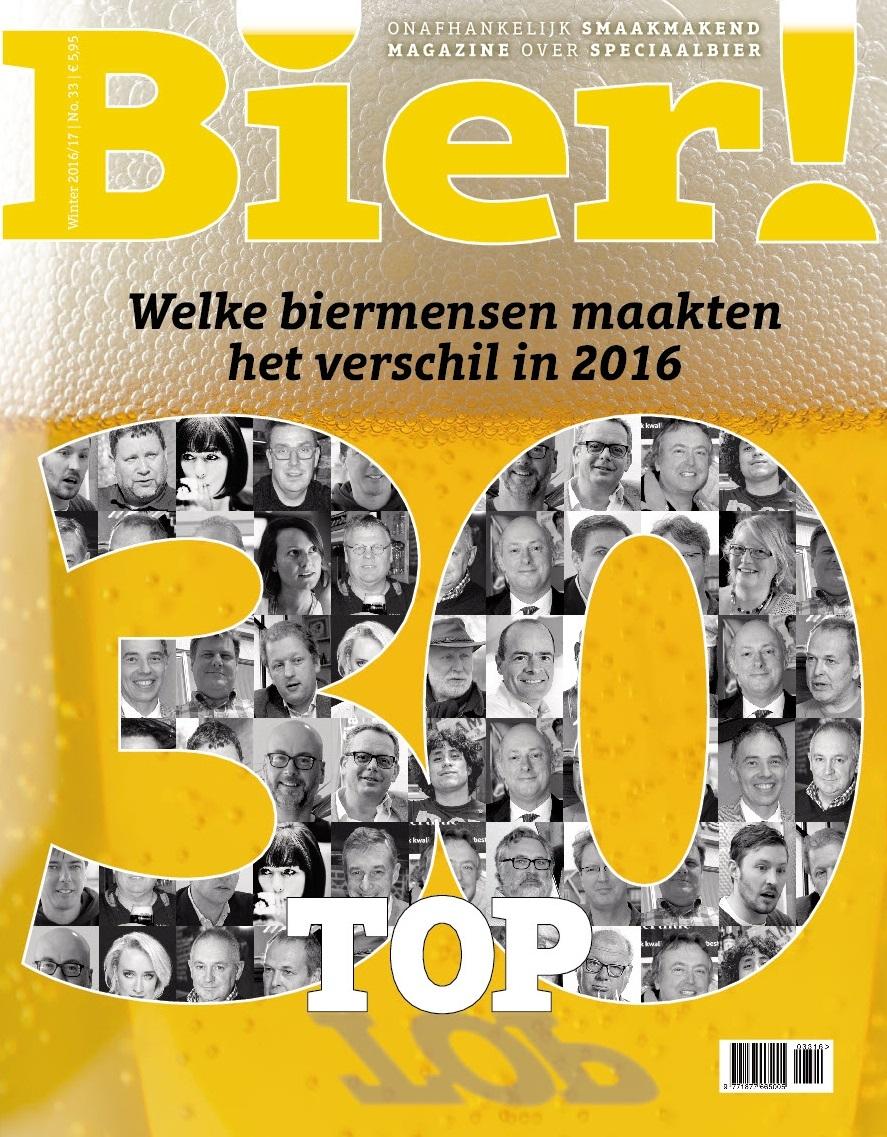Bier! magazine publiceert eerste Bier! Top 30