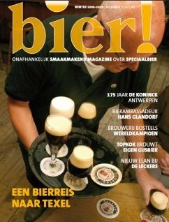 Eerste editie Bier! verschenen