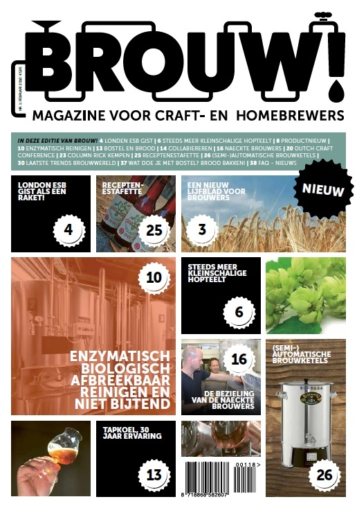 Nieuw magazine van Birdy: Brouw! magazine