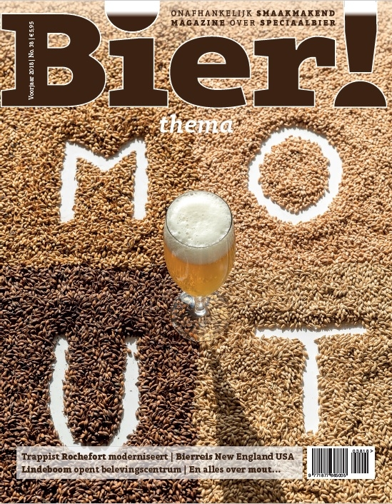 Thema 'Mout' in Bier! magazine 38