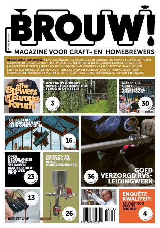 2e editie van Brouw! magazine verschenen
