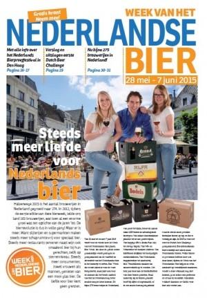 4e Krant van de Week van het Nederlandse Bier