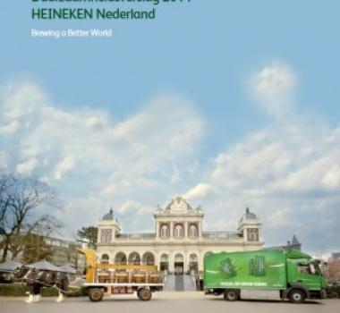Duurzaamheidsverslag HEINEKEN Nederland weer door Birdy geschreven