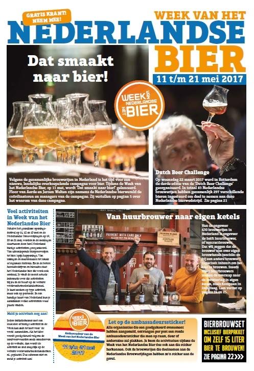 6e Krant van de Week van het Nederlandse Bier