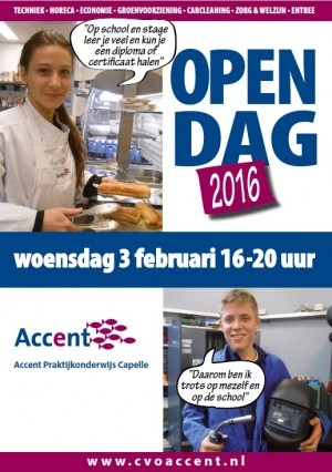 Campagnemateriaal Accent Open Dagen