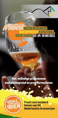 Programmaboekje Nederlands Bierproeffestival 2013