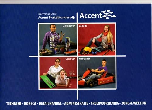 Concept en redactie jaarverslag Accent Praktijkonderwijs 2010
