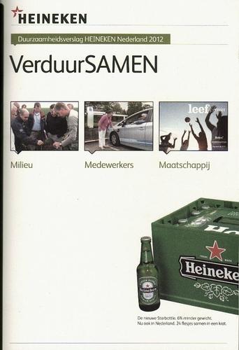 Realisatie Heineken Duurzaamheidsverslag 2012