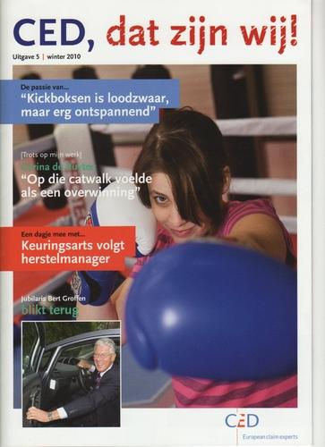 5e CED personeelsmagazine verschenen