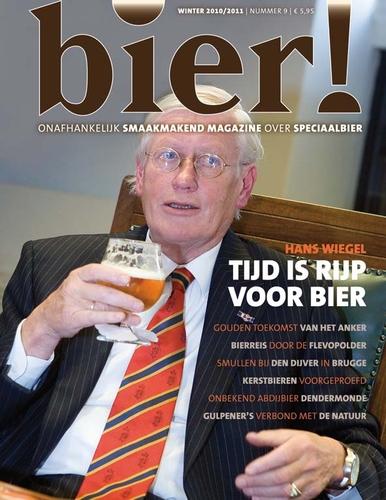 Hans Wiegel in wintereditie Bier!