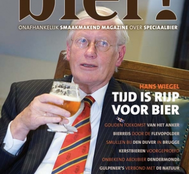 Hans Wiegel in wintereditie Bier!