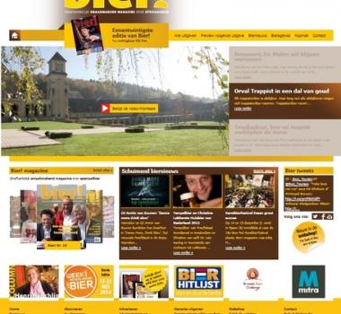 Nieuwe website voor biermagazine.nl