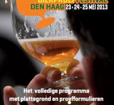 Programmaboekje Nederlandse Bierproeffestival 2013