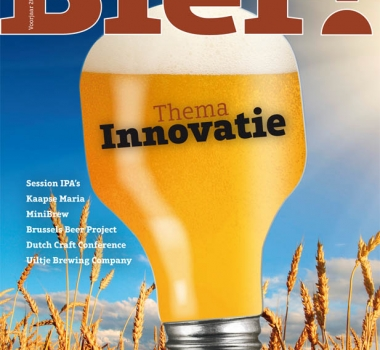 Thema 'innovatie' in Bier! magazine nr. 34