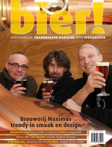 Trendy Brouwerij Maximus in voorjaarsnummer Bier!