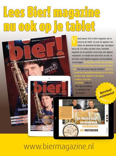 Birdy Publishing lanceert iPad-versie van Bier! magazine, ook in Engels