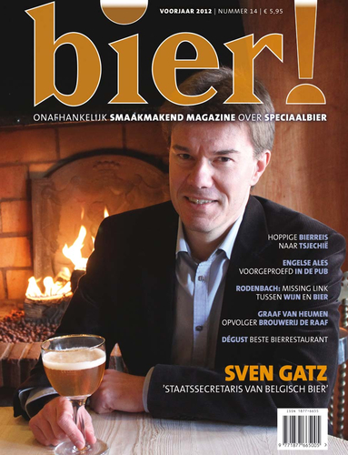 'Staatssecretaris' van Belgisch bier in Bier! 14