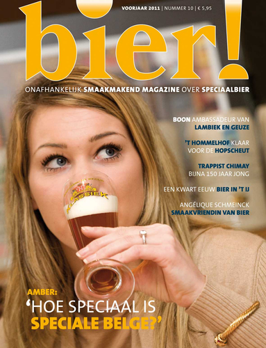 Amber proeft Speciale Belge