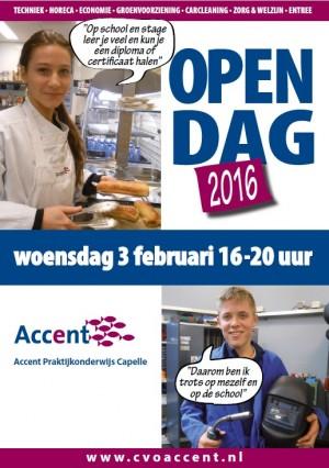 Campagnemateriaal Accent Open Dagen