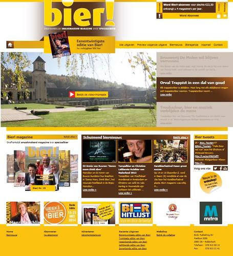 Nieuwe website biermagazine.nl