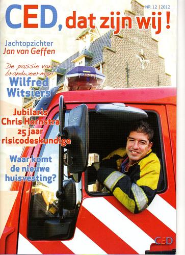 Thema 'Brand' in twaalfde CED personeelsmagazine