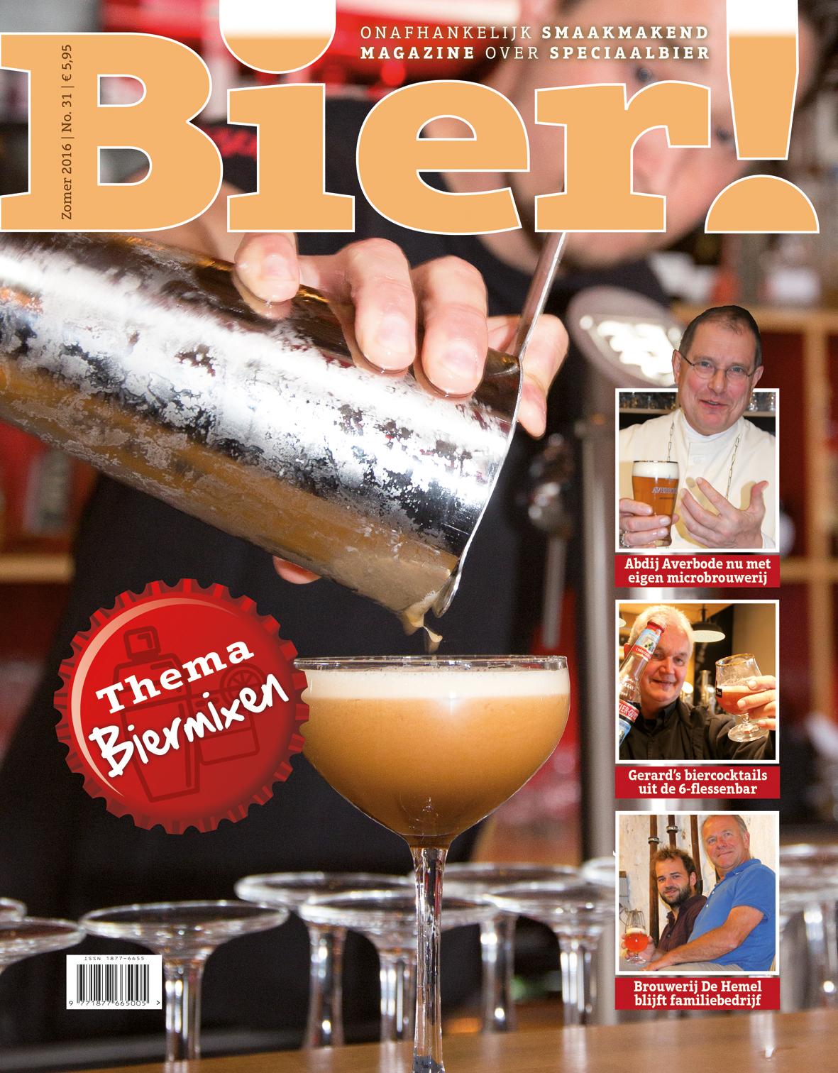 Bier! nr. 31 met als thema Biermixen